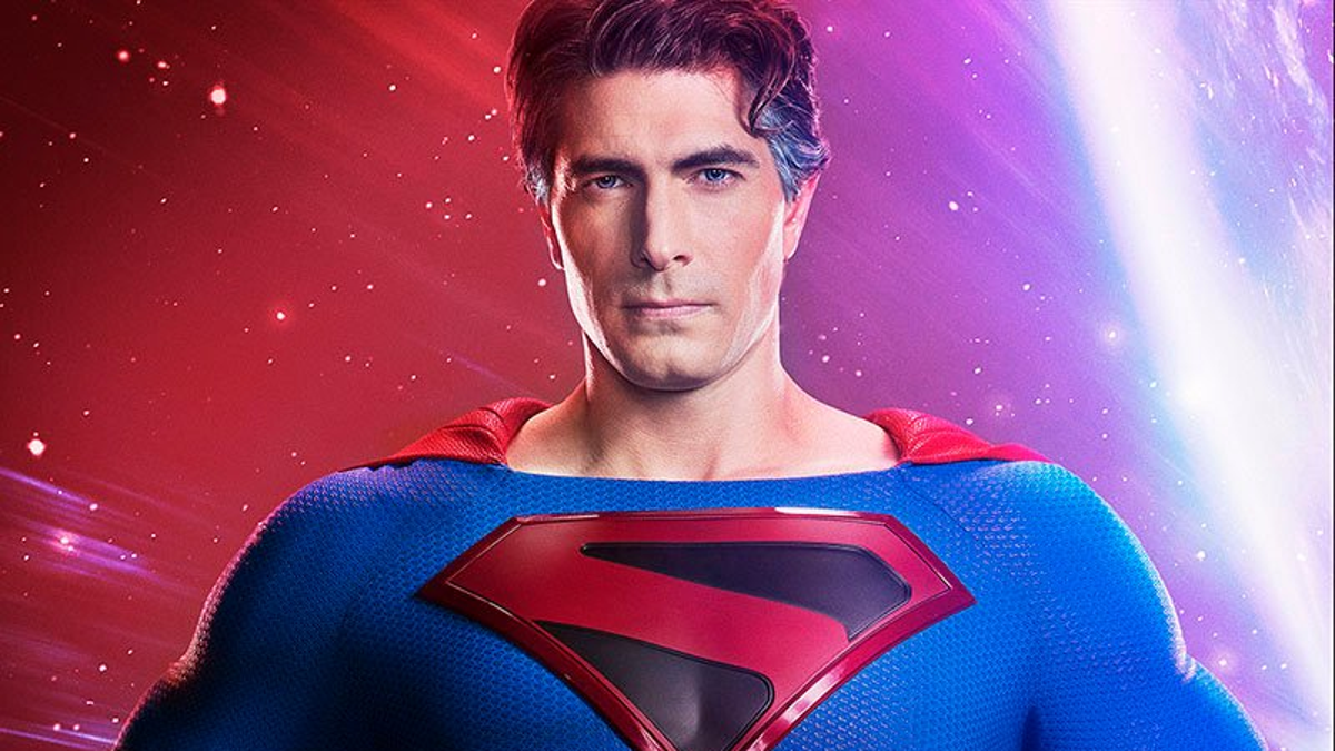 Here's Your First Look at Brandon Routh as Crisis on Infinite Earth's 'Kingdom Come' Superman