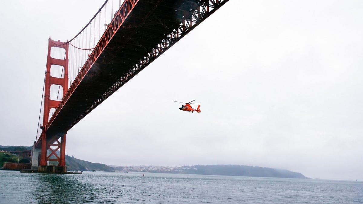 """Un fotógrafo se enfrenta a acciones legales por tomar una imagen del Golden Gate desde un """"ángulo ilegal"""""""