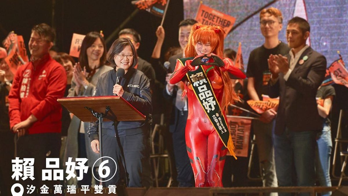 Cosplaying Politician Elected In Taiwan