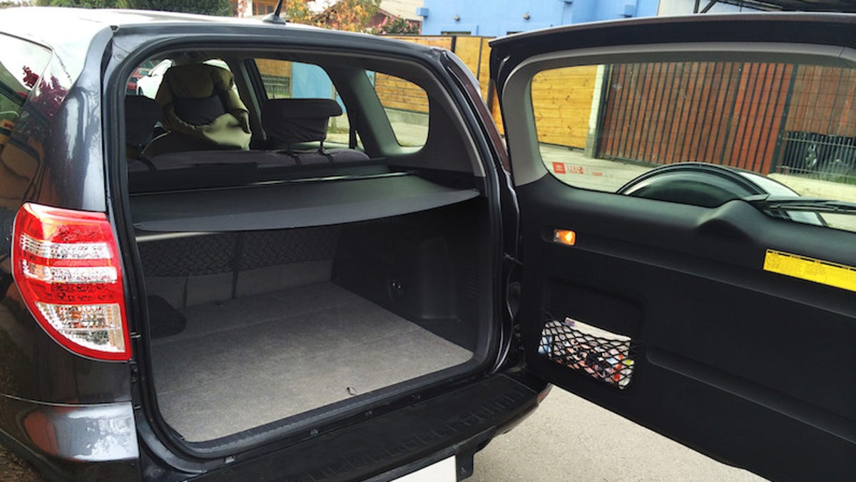 Double Your Trunk Space With This Diy Pop Up Shelf