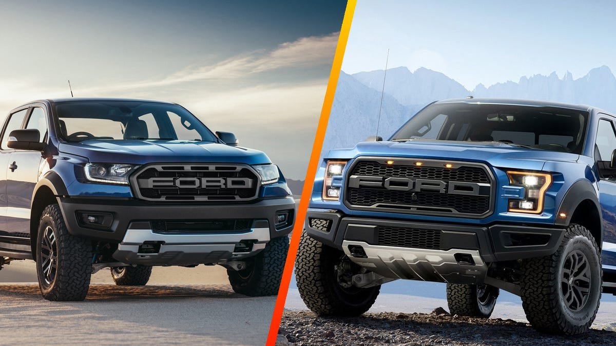 How The Ford Ranger Raptor Measures Up To The Real Raptor