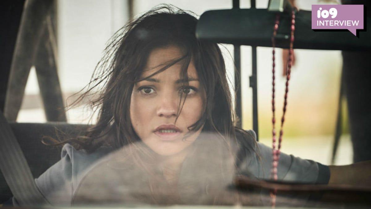 Terminator Dark Fate Natalia Reyes Interview: The New Sarah
