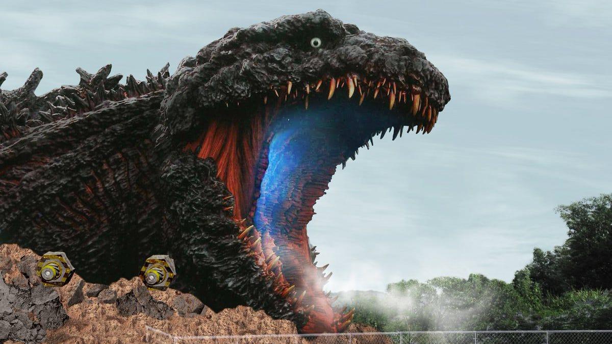 Un parque de atracciones japonés inaugurará una figura de Godzilla a tamaño real en 2020