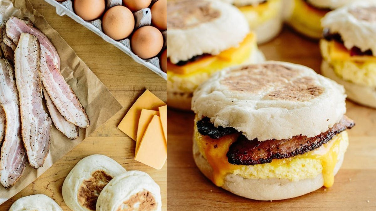 Make These Freezer-Friendly Breakfast Sandwiches for an Easy Start to the Workday