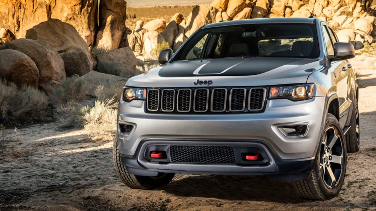 All The Off Road Features Of The 2017 Jeep Grand Cherokee Trailhawk