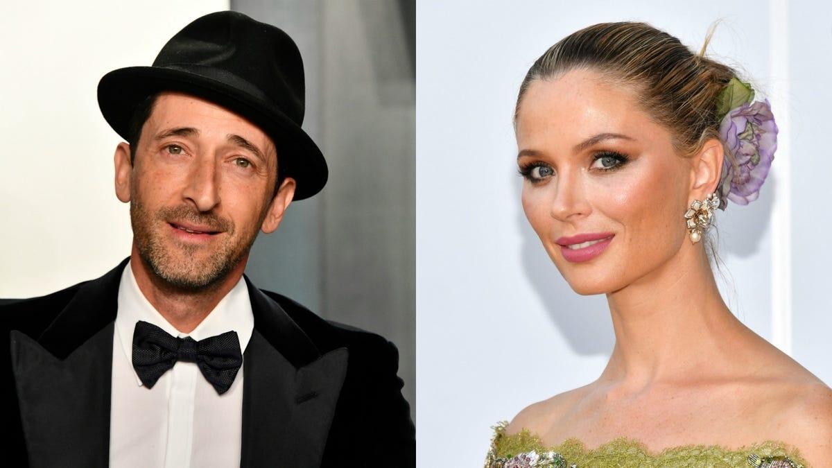 Adrien Brody & Georgina Chapman Are Dating????