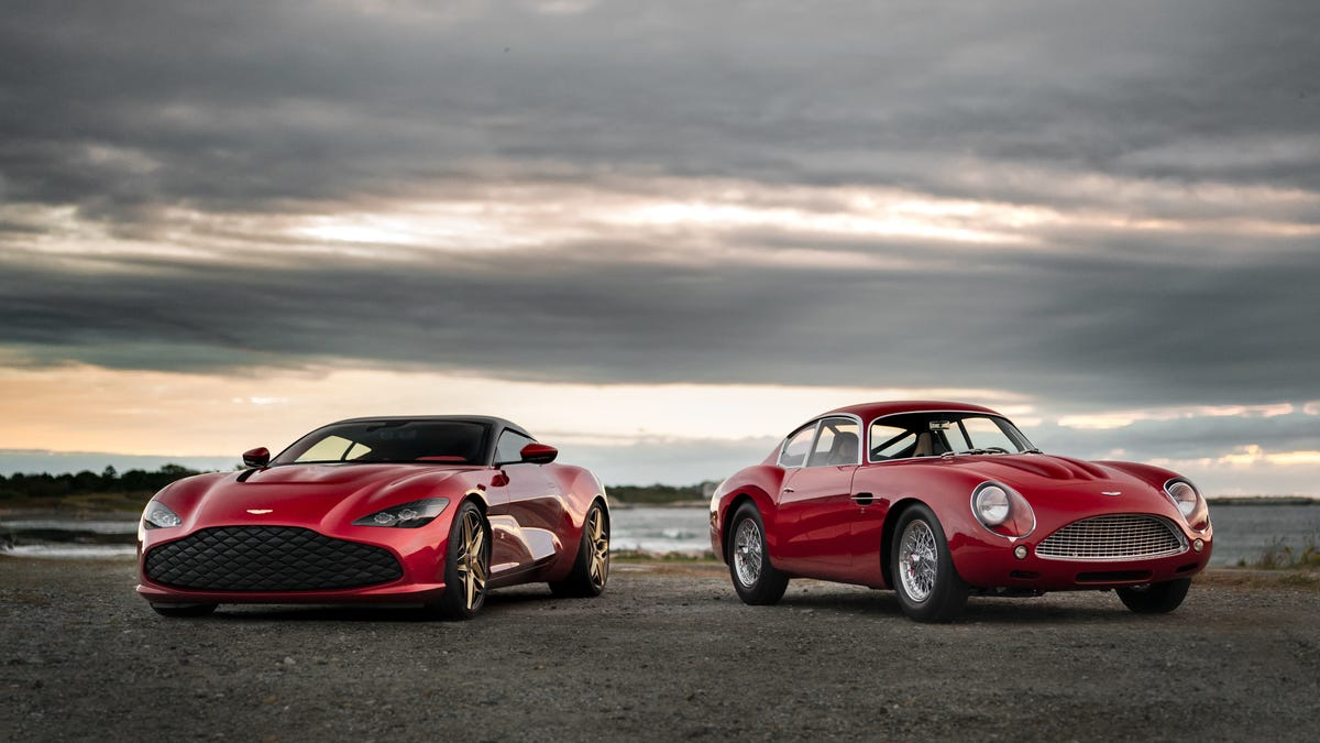 """The DBS GT Zagato Is The New Aston Martin That Comes With An """"Old"""" One"""