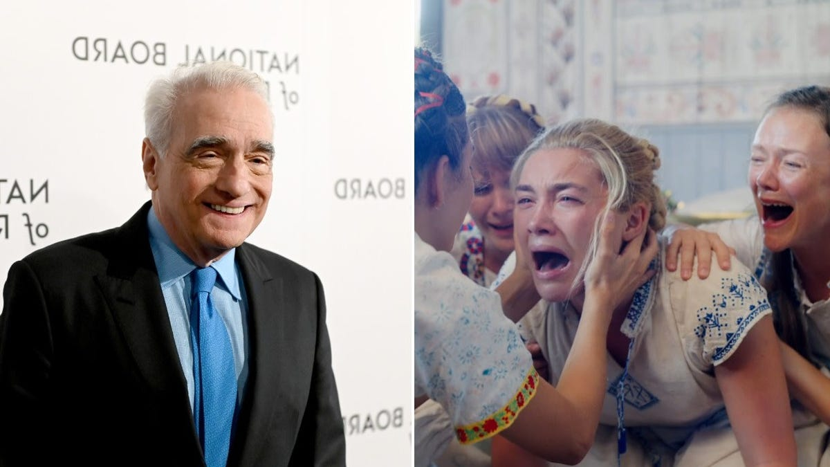 Martin Scorsese loved the crap out of Hereditary and Midsommar