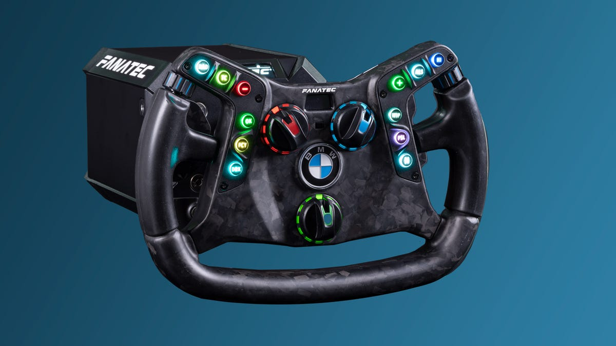 You Can Finally Get One Steering Wheel For Your Sim Racing Rig And Your BMW M4 GT3