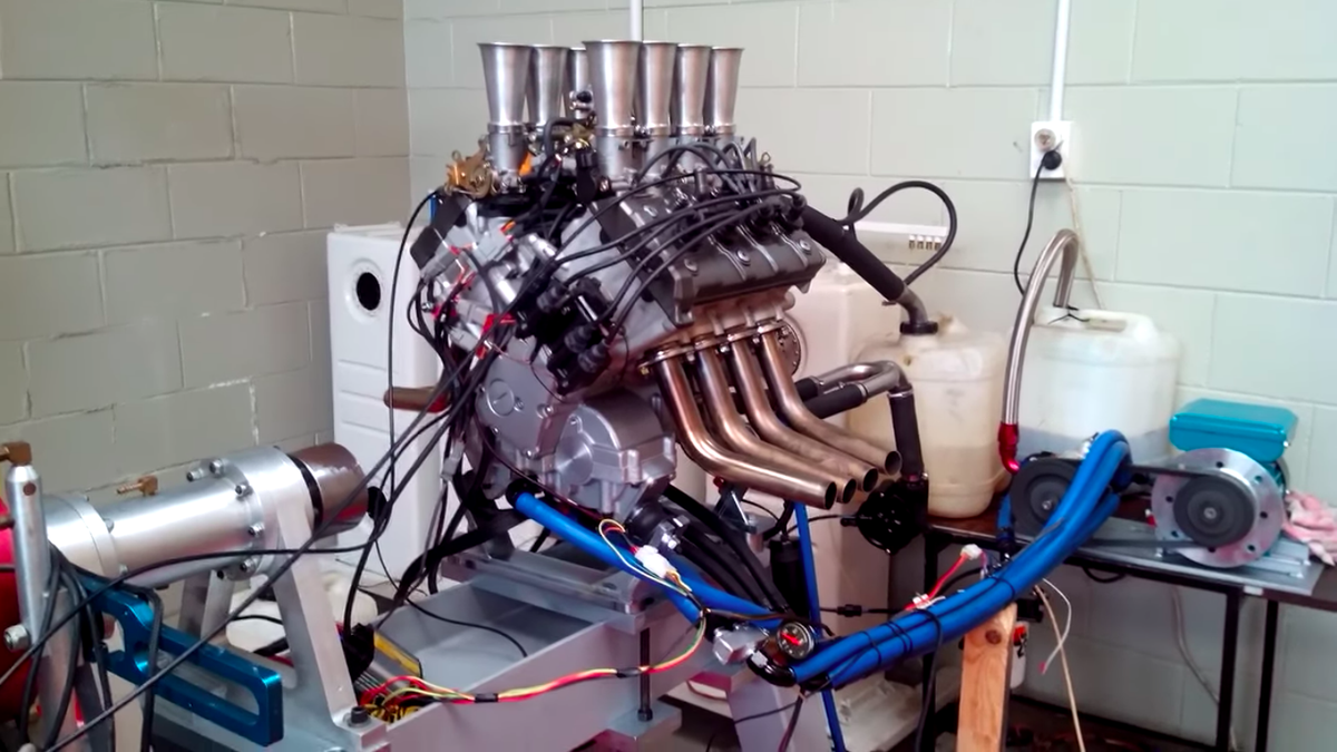 Here's What A 1.2-Liter V8 Sounds Like