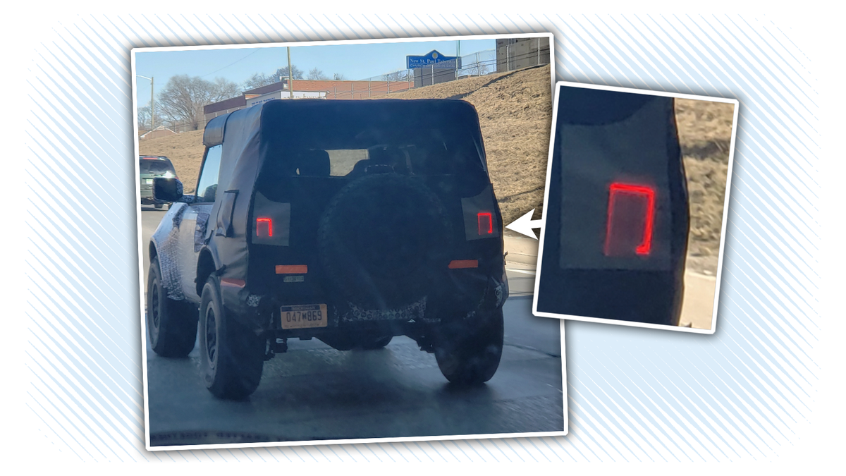 Take Your First Look At The 2020 Ford Bronco's Taillights