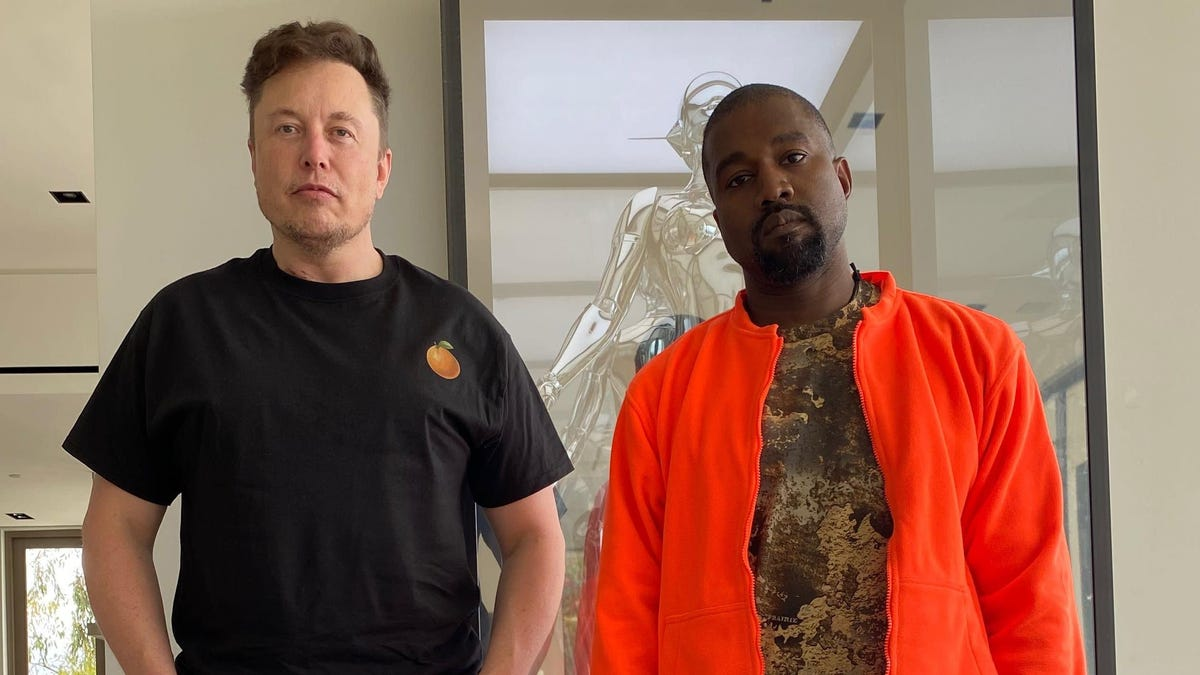 Kanye West Can't Dress, and Neither Can Elon Musk