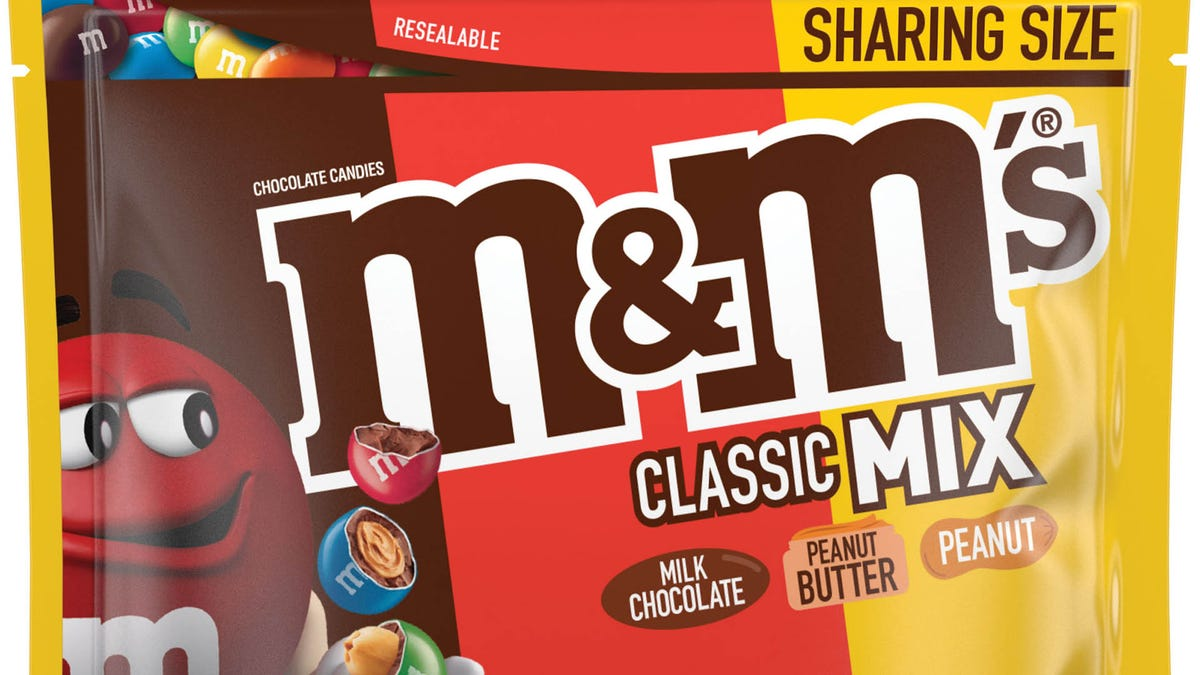 M&M's about to make it easier to be indecisive