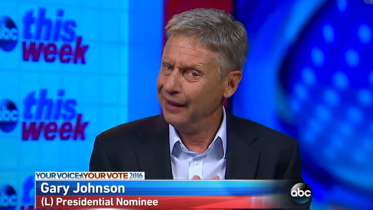 Gary Johnson's Solution For Climate Change Involves Moving to Other Planets