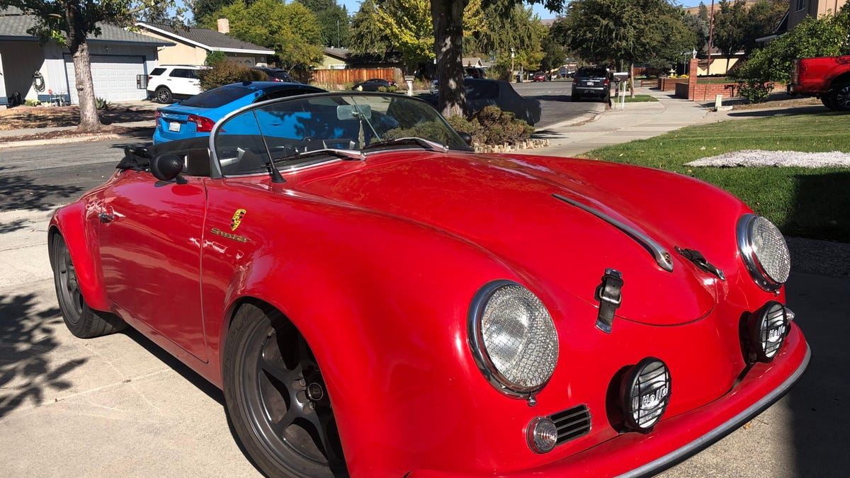 At $35,500, Is This Corvair-Powered 1957 Porsche Speedster Kit Car A Mashup That's On The Money?