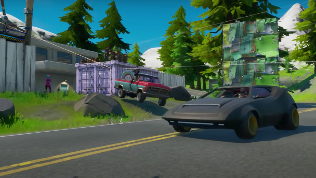After Leaks And A Tweet From Epic, Fortnite Players Are Still Waiting For Drivable Cars