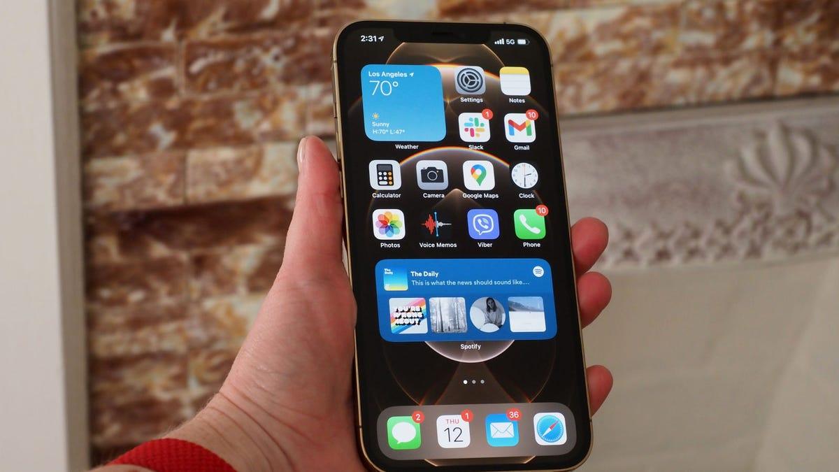 The iPhone 13 Might Sport an In-Screen Fingerprint Sensor