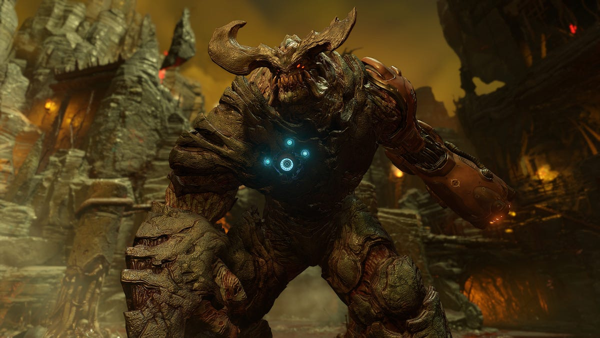 Even Doom's Boss Fights Are Incredible