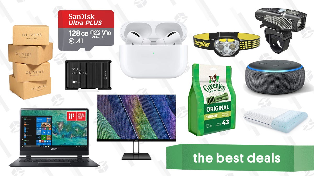Wednesday's Best Deals: Olivers Mystery Boxes, Apple AirPods Pro, Zippo Hand Warmers, and More