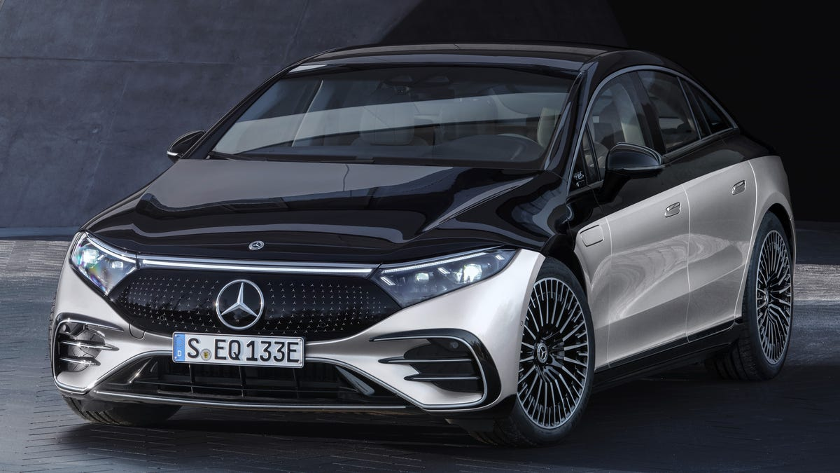 The All-Electric 2022 Mercedes EQS: This Is It