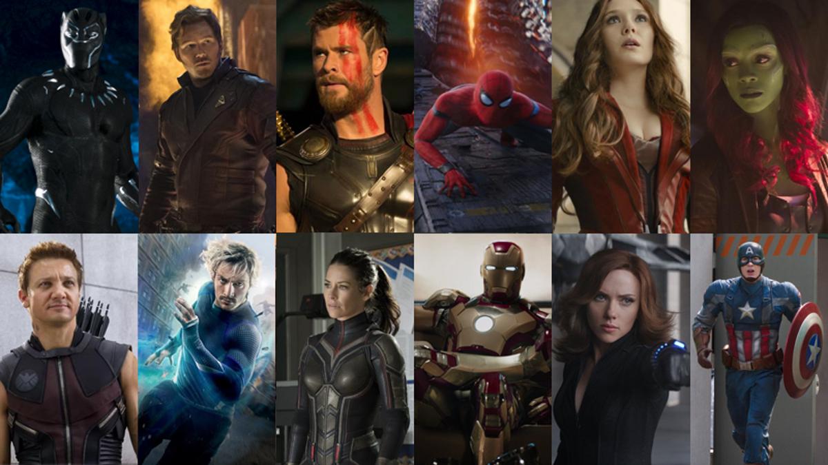10 Years Of Marvel Movie Hero Costumes Ranked