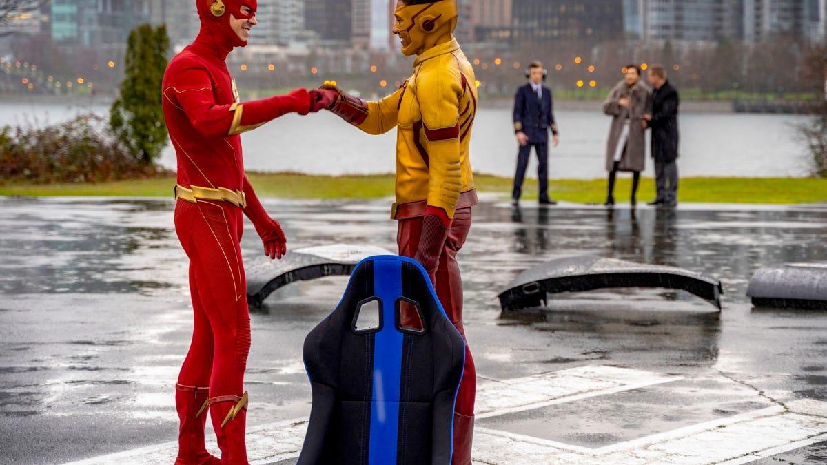 Kid Flash returns in a downbeat reunion episode