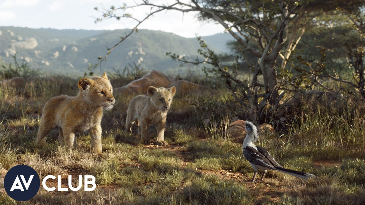 Here's how The Lion King dealt with its lookalike lions
