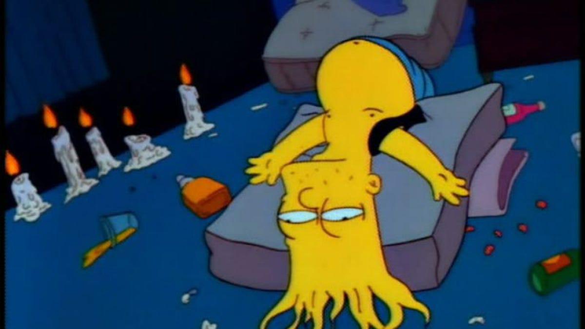"Bart Fucks Milhouse the simpsons (classic): ""the otto show"""