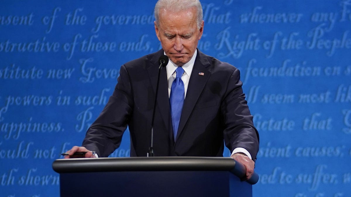 Joe Biden's Face Said What His Mouth and Body Could Not