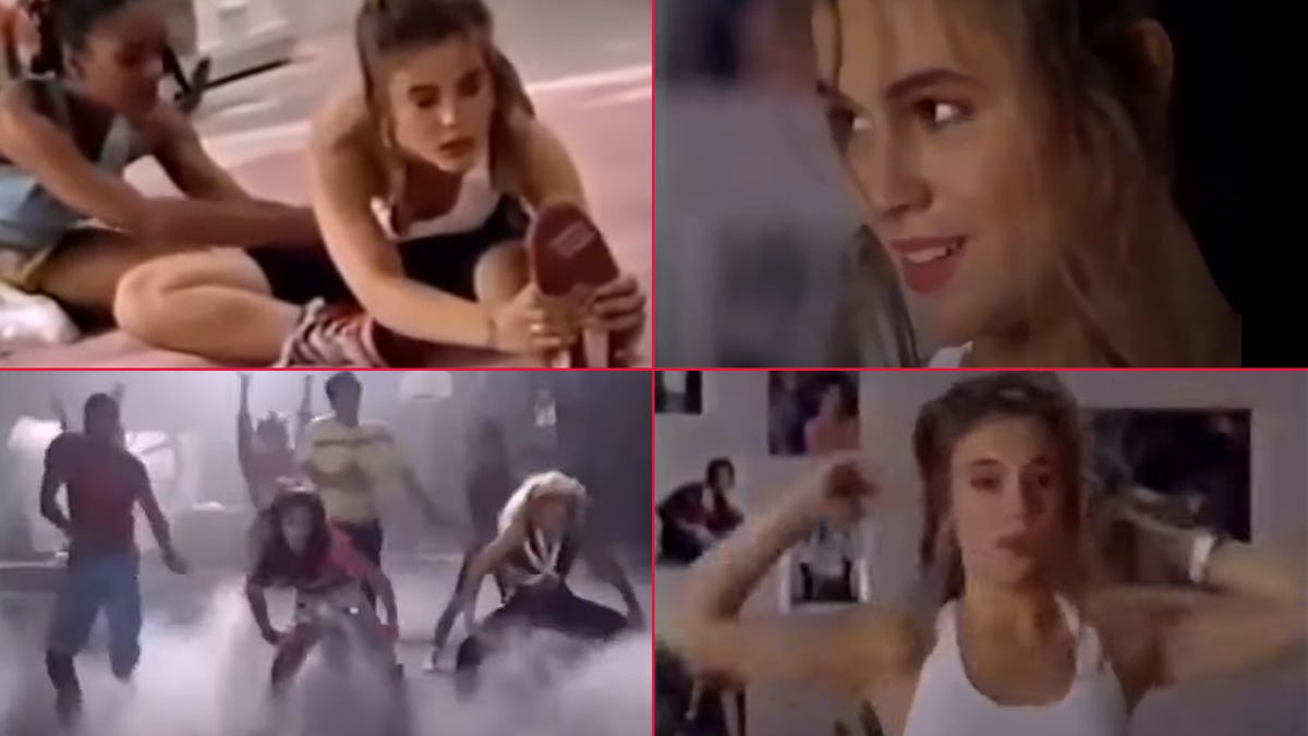 Try Alyssa Milano's 1988 Workout to Relieve 2020 Stress