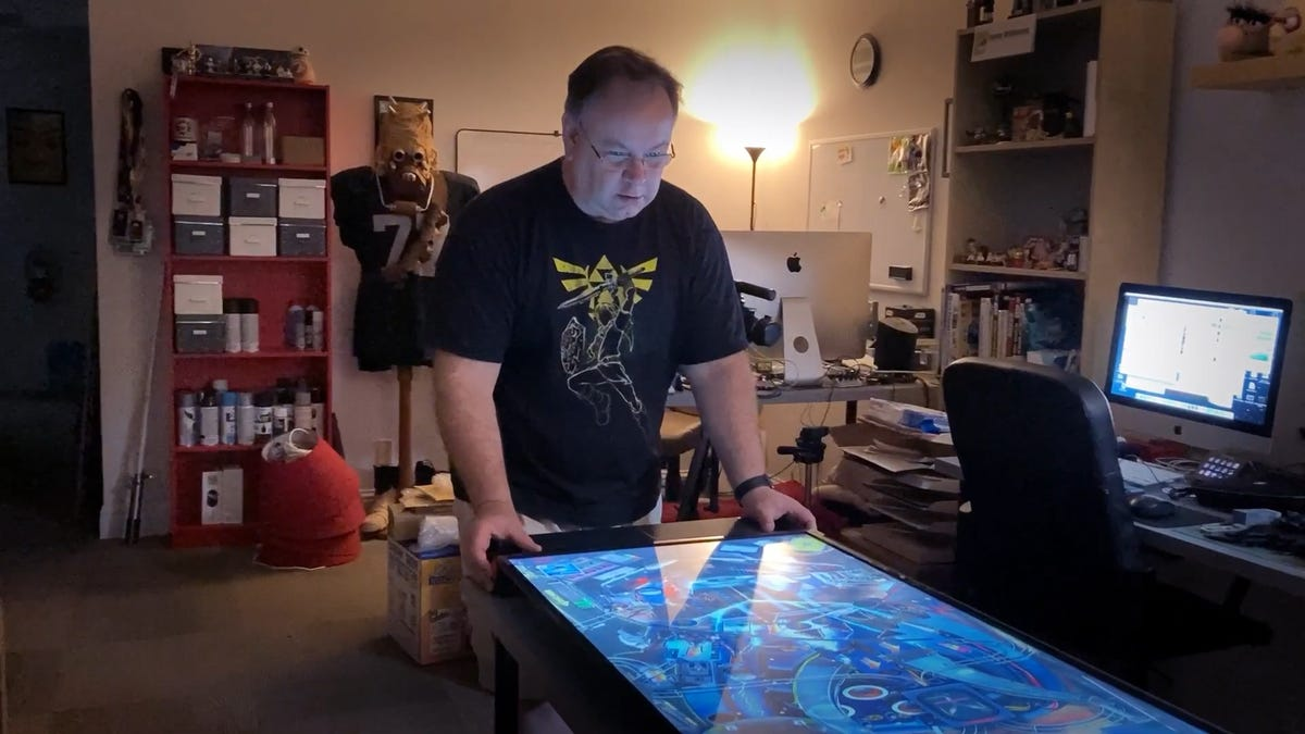That's One Way To Make A Custom Switch Pinball Controller