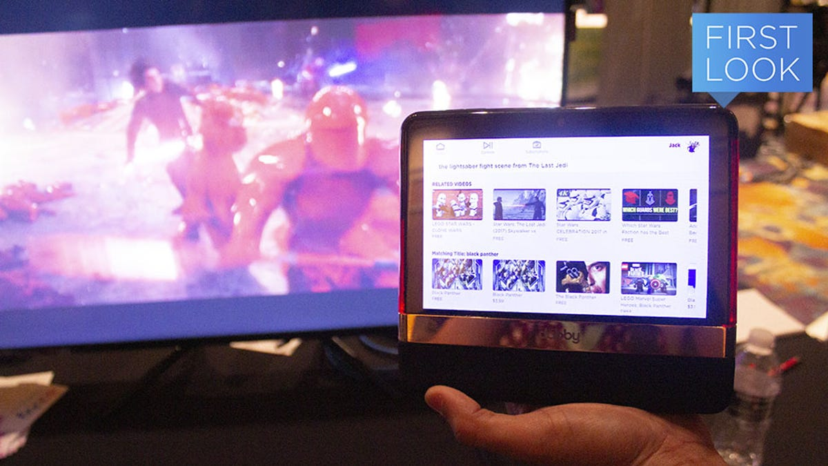 This Tablet-Based Streaming Search Engine Gives You Binging Superpowers