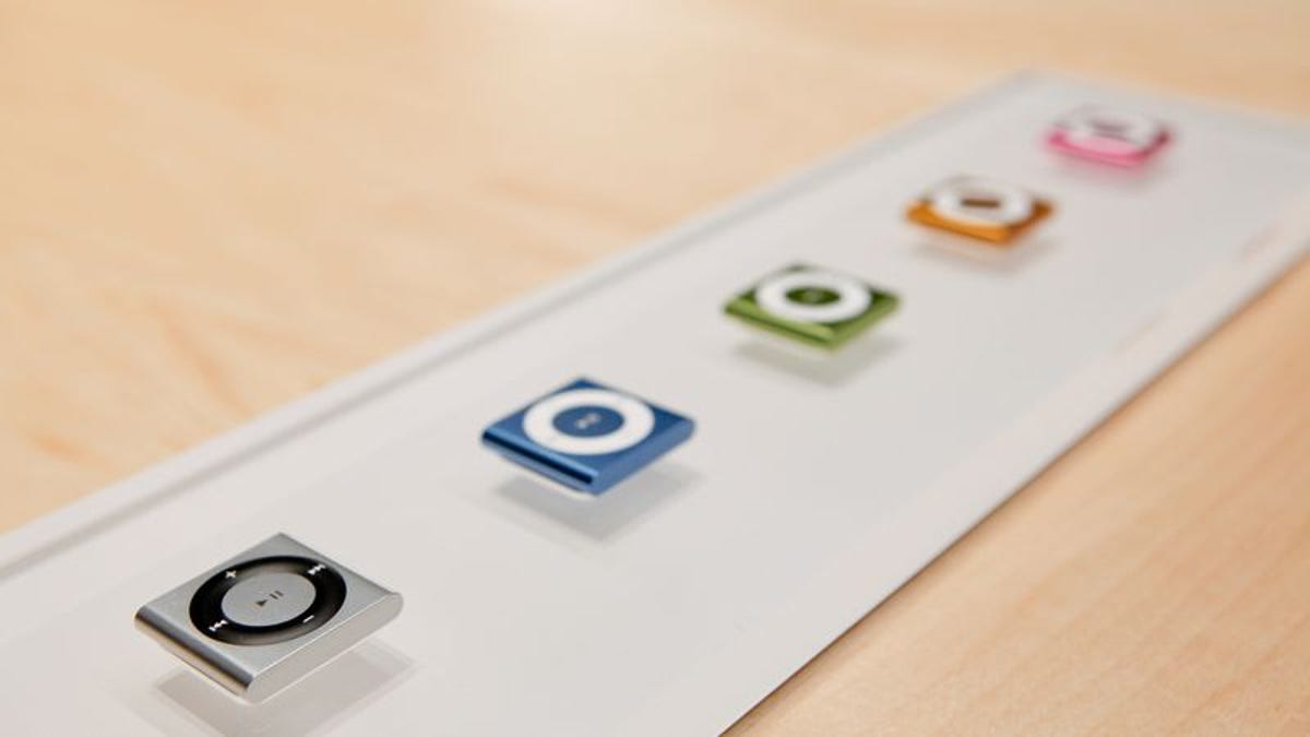 Apple's killing off the iPod Shuffle and Nano
