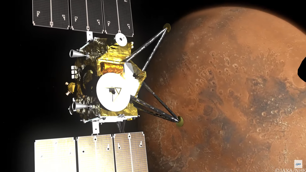 Japan's space agency will send an 8K camera on Mars mission