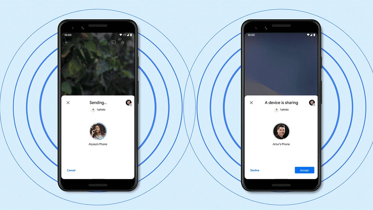 How Android's Nearby Share Compares to Apple's AirDrop