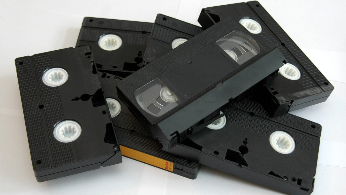 Don't Throw Away Your VHS Tapes