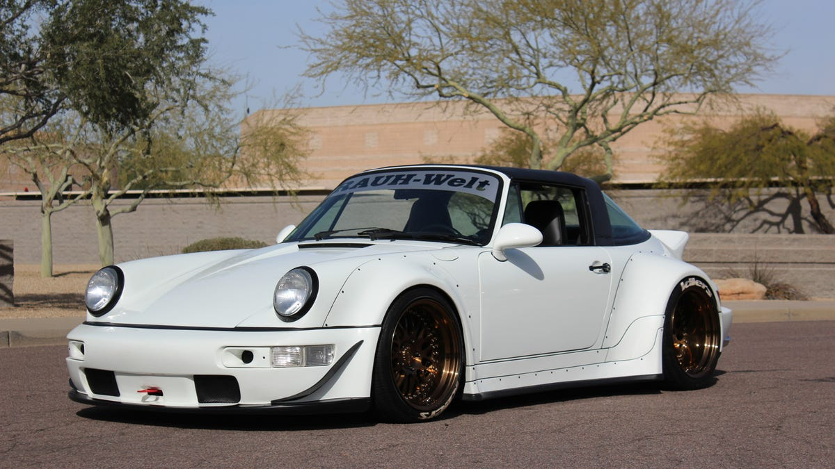 Here Is Your Chance To Buy A Rwb 964 And Piss Off The