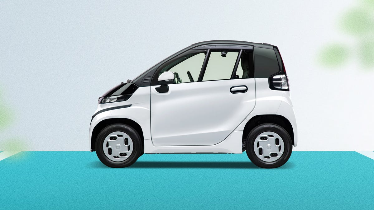 Toyota's Tiny C+Pod EV Makes Me Happy, Even Though I Have No Idea What I'd Do With One