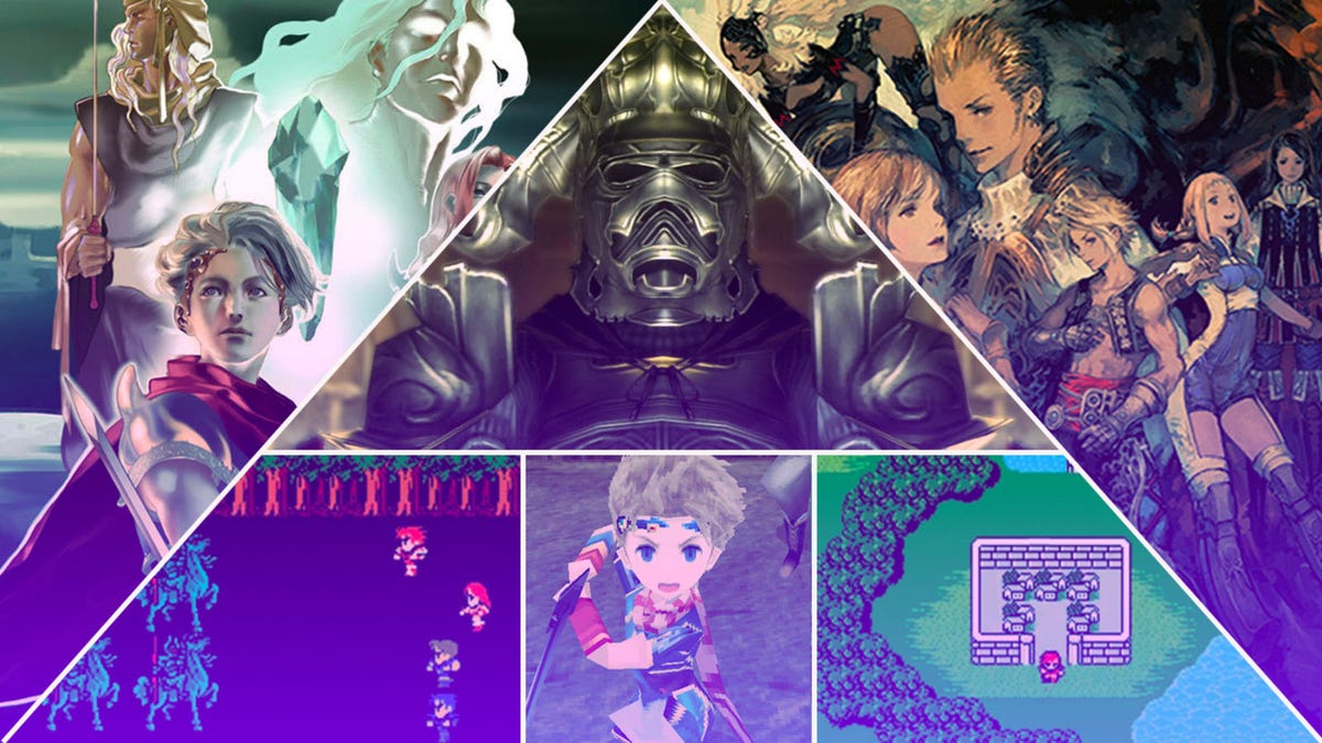 The best, worst, and weirdest games in the 30-year-history of the Final Fantasy franchise