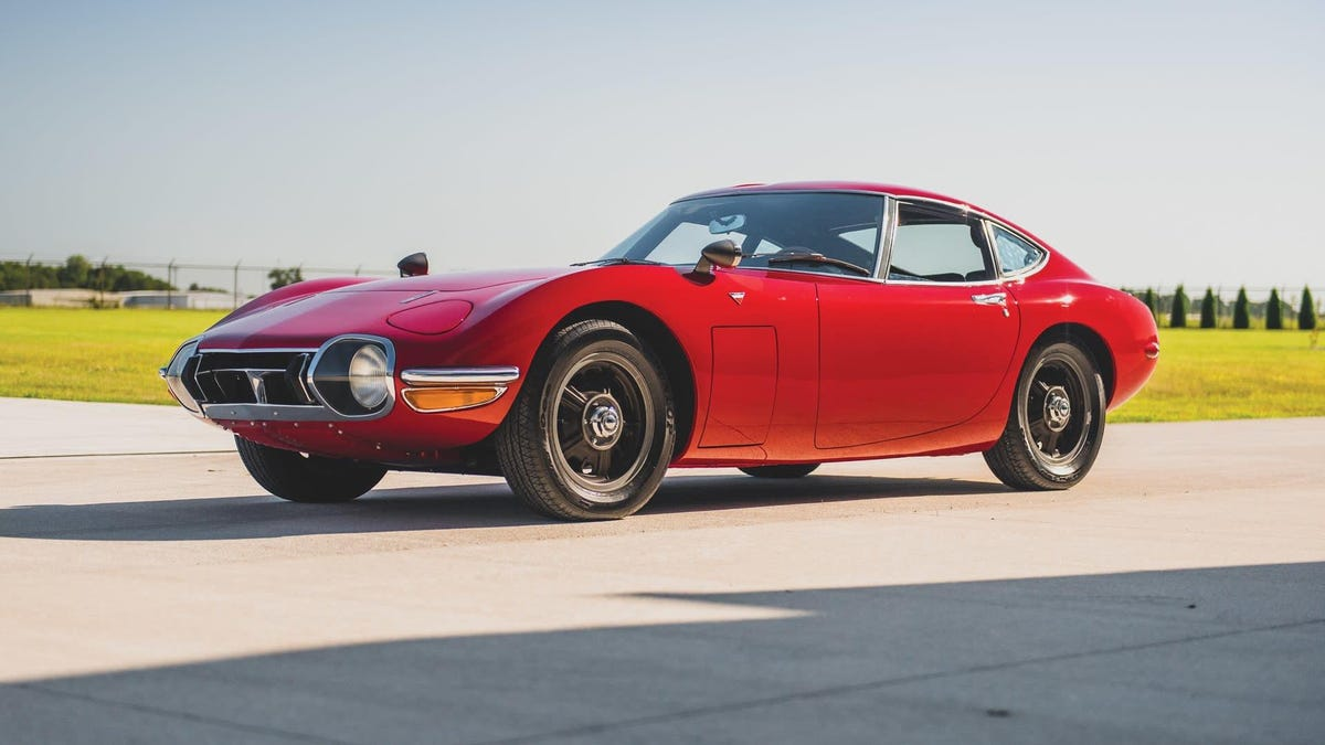 The Best Looking And Possibly Most Expensive Toyota Ever Is Going To Auction Soon