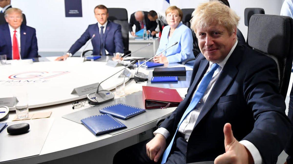 Boris Johnson looks good in butter