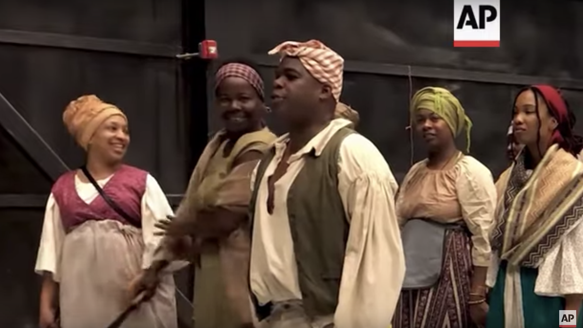 So, What Exactly Does One Wear to a Slave Rebellion Reenactment, Anyway?