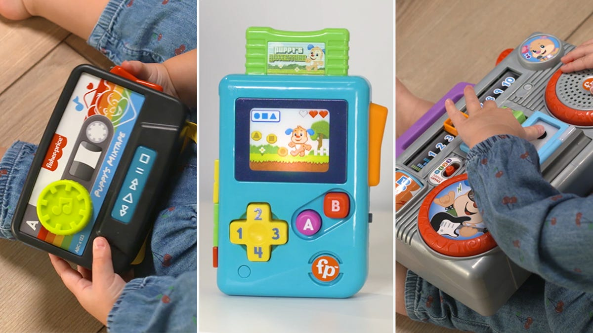 photo of Fisher-Price's New Toys Will Teach Your Kids About the Glory of '80s Gadgets image