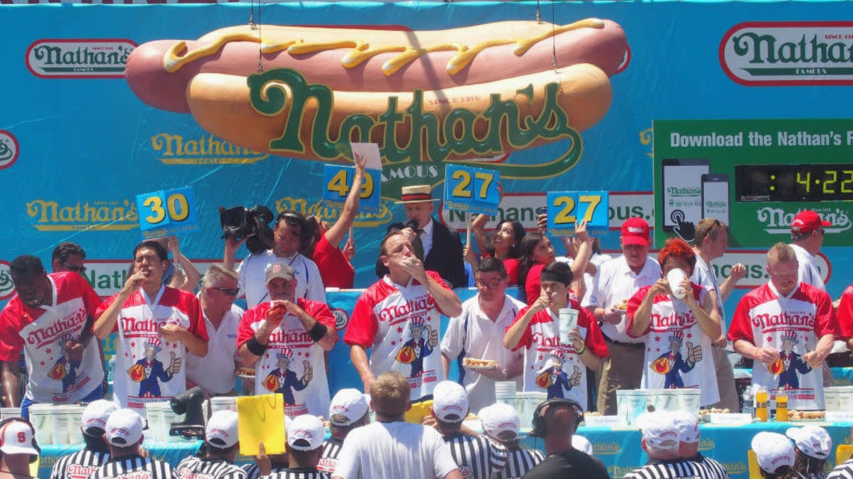So, according to science, just how many hot dogs can a person eat?
