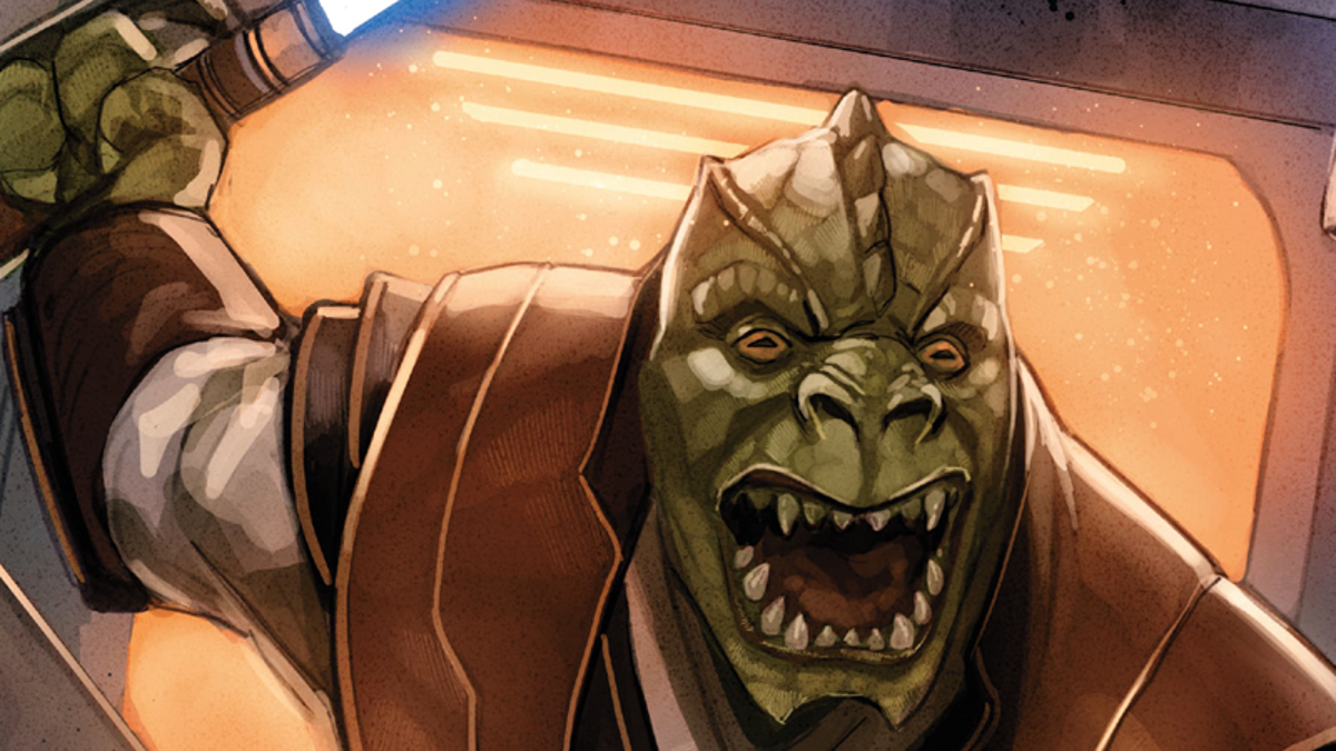 Star Wars' Trandoshan Jedi Is Provoking Interesting Questions on Anger