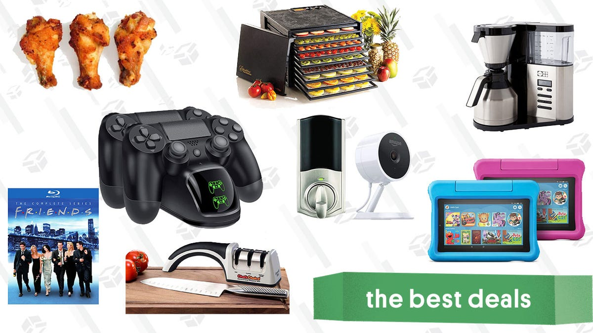 Friday's Best Deals: Amazon Fire 7 (Kid's Edition), Excalibur Food Dehydrator, Friends Complete Series, and More
