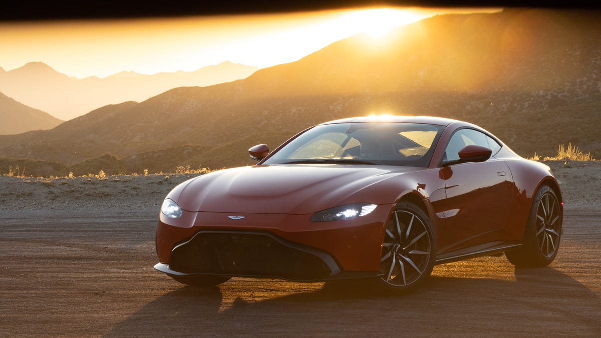 The Aston Martin Vantage Is The Coolest Car I Can't Remember Driving