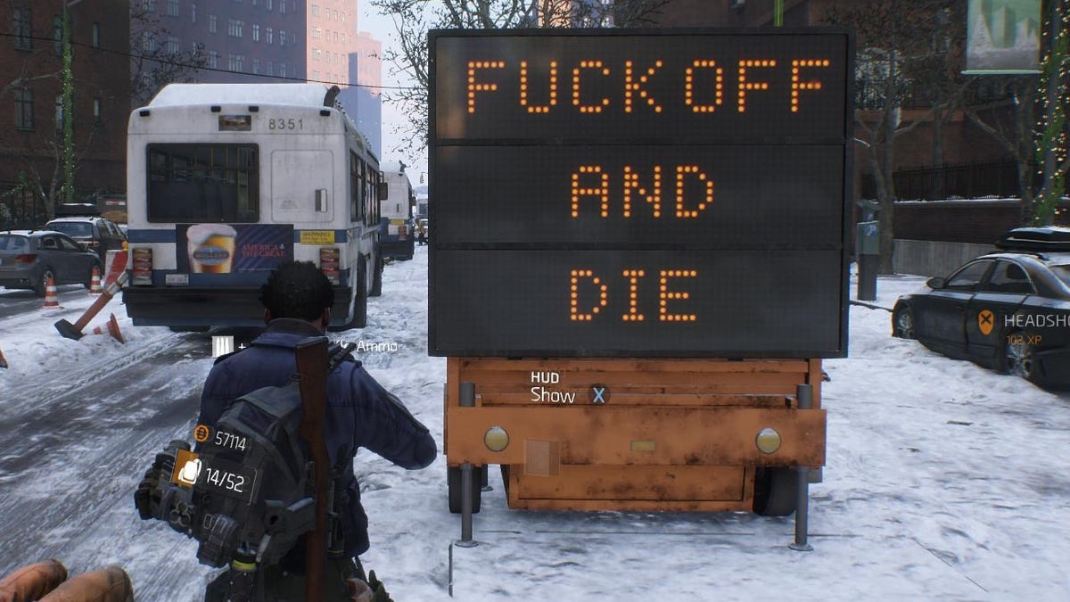 The Division Is Having A Bad Time