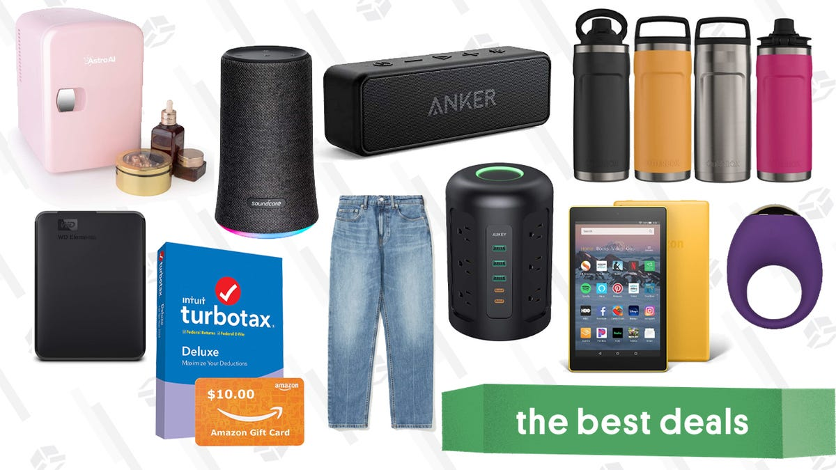 Tuesday's Best Deals: Amazon Fire HD 8 Tablets, TurboTax, Bellesa Boutique Sex Toys, and More