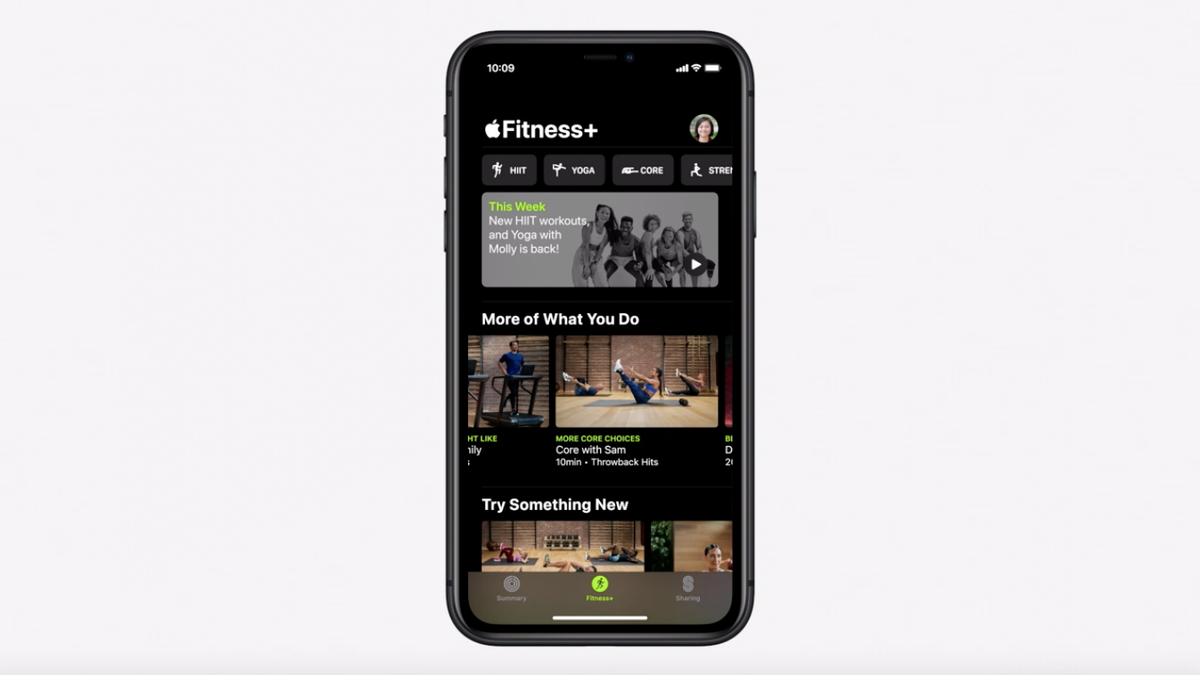Apple Takes Aim At Peloton with Fitness+ Subscription Service